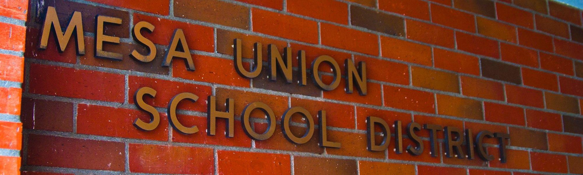 Mesa Union School